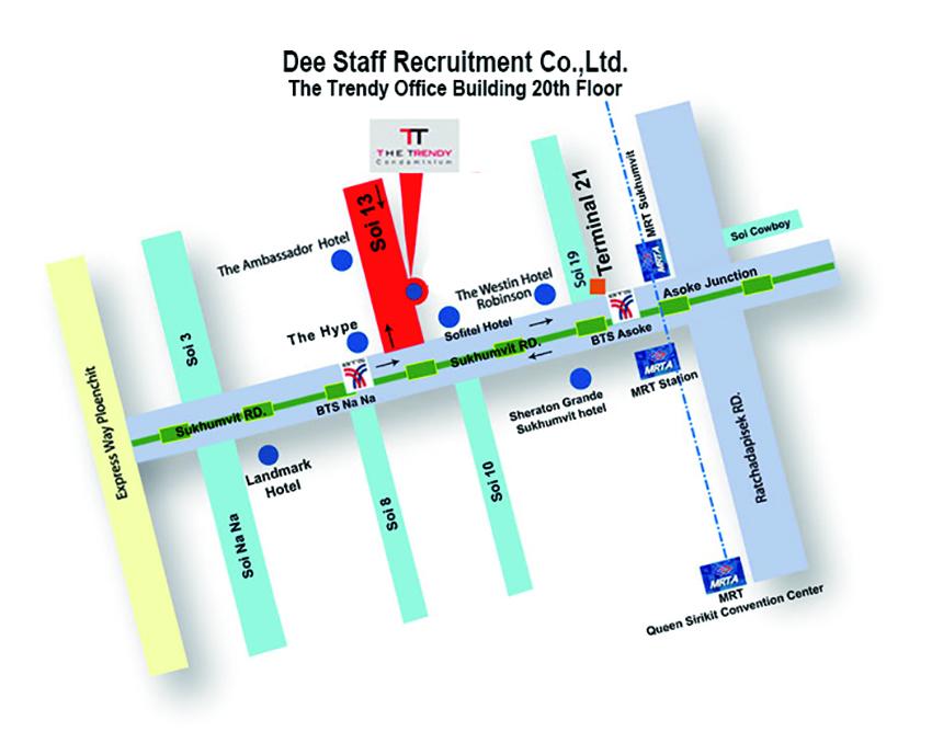 Dee Staff Map